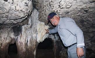 Hazine dedikoduları mağarayı definecilerin hedefi yaptı
