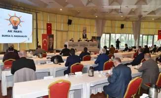 AK Partililer, Bursa'nın geleceğini istişare etti