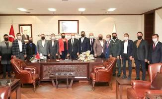 Başkan Zolan, MHP il yönetimini ağırladı