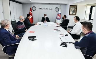 DTO'da kısıtlamadan etkilenecek üyeler için toplantı gerçekleştirdi