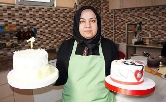 Hayalle başladı, butik pastacılığın okulunu açtı