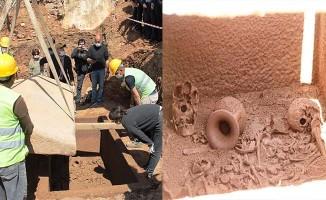 Lahit mezar 2400 yıl sonra gün yüzüne çıktı