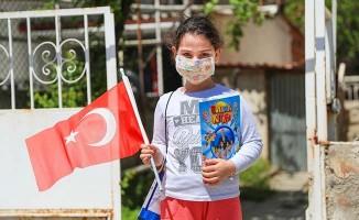 Pamukkale Belediyesinden çocuklara 23 Nisan hediyesi