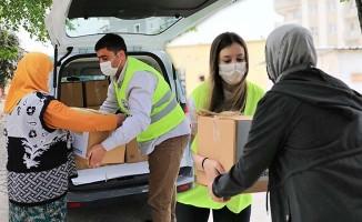 Pamukkale Belediyesinden ihtiyaç sahiplerine destek