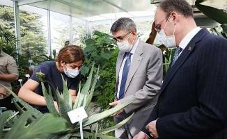 Rektör Kutluhan ve Başkan Örki'den PAÜ Botanik Bahçe'ye ziyaret