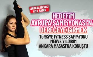 Türkiye Fitness Şampiyonu Merve Yıldırım Avrupa'ya gidiyor