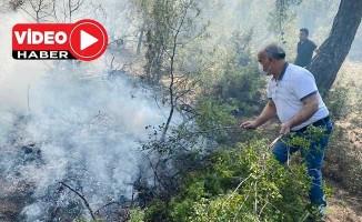 İki noktada süren orman yangınına 4 helikopter ve 30 arazöz müdahale ediyor