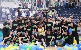 Merkezefendi Denizli Basket Süper Lig'e yükseldi
