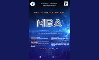 PAÜ'de Mikro MBA Sertifika Programı başlıyor