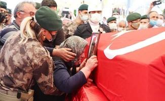 Şehit Özel Harekat Polisi Kabalay, baba ocağında toprağa verildi