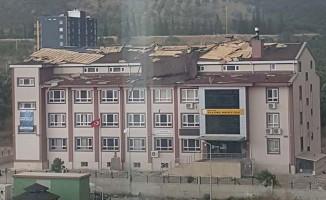 Aydın'da fırtına hasarları devam ediyor