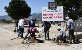 Buldan Belediye Başkanı Mustafa Şevik'tenYenicekent'e vefa