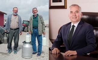 Büyükşehir'den süt üreticilerine büyük destek