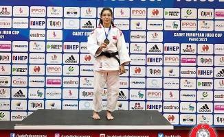 Büyükşehirli judocu Reyhan Oğuz Avrupa 3'ncüsü