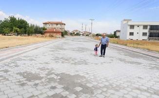 Fatih Mahallesinde üstyapı çalışmaları tamamlandı