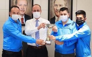 Pamukkale Belediyespor masa tenisinde de iddialı