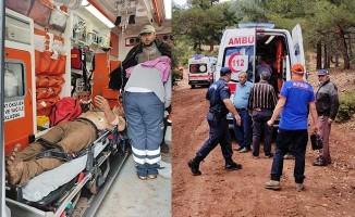 Yıldırım düşerek yaralanan 6 işçinin isimleri belli oldu