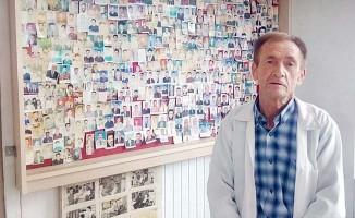 40 yıldır tıraş ettiği binlerce müşterisinin fotoğraflı arşivini tutuyor