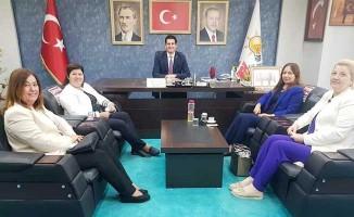 AK Partili kadınlardan Yücel Güngör'e ziyaret