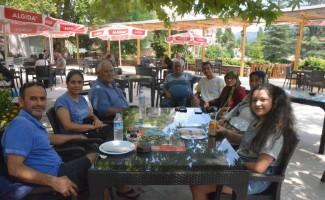 Çameli'nin doğan kliması ziyaretçilere huzur veriyor