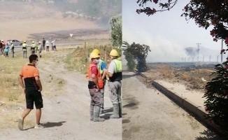 Ekmek teknelerini yangından korumaya çalışırken dumandan zehirlendiler
