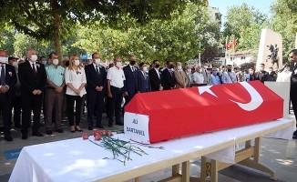 Eski Başkan Ali Dartanel için tören düzenlendi