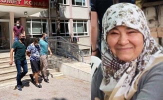 Oğlu tarafından öldürülen kadın toprağa verildi
