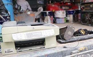 Pamukkale Belediyesinde hedef; en çok elektronik atık toplamak