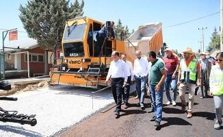 Pamukkale Belediyesinden asfalt hamlesi