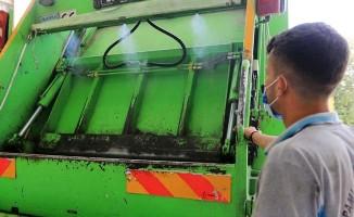 Pamukkale'de çöp kamyonları temiz kokuyor