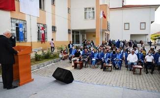 PAÜ Buldan Meslek Yüksek Okulunda mezuniyet töreni