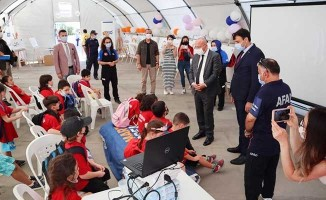 Vali Atik, AFAD'dan etkinlik ve çalışmalar hakkında bilgi aldı