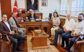 Avrupa Türk İşadamları İşbirliği Konseyi Denizli'de yoğun çalışıyor
