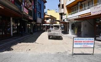 Buldan çarşı sokak yenileniyor