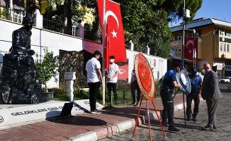 Buldan'da 30 Ağustos Zafer Bayramı'nın 99. yılı törenle kutlandı