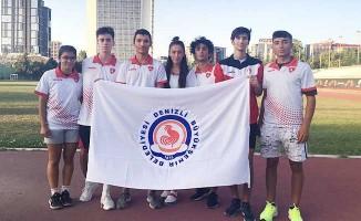 Büyükşehir Belediyespor'lu sporcular madalyalarla döndü