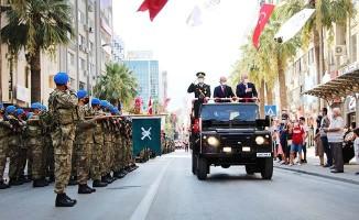 Denizli'de Zafer Bayramının 99'uncu yılı törenle kutlandı