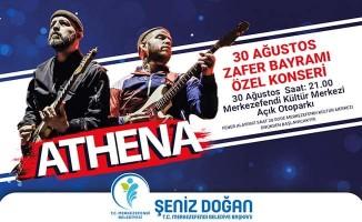 30 Ağustos Zafer Bayramı'nda Athena sahne alacak