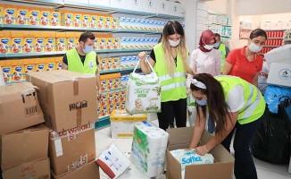 Pamukkale Belediyesinden yangın bölgelerine yardımlar sürüyor