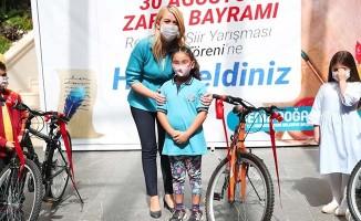 30 Ağustos Zafer Bayramı 'Resim ve Şiir Yarışması'nın kazananları ödüllerini aldı
