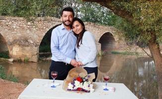 800 yıllık tarihi  köprüde evlilik teklifi