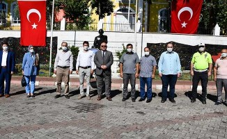 Buldan'da mütevazi kutlama