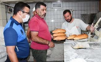 Buldan'da Zabıta ekipleri fırınları denetledi