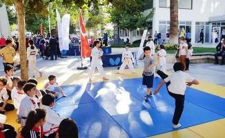 Denizli'de Avrupa spor haftası etkinlikleri sürüyor