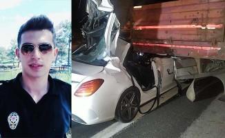 Denizli'de görevli polis memuru kazada hayatını kaybetti