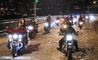 Denizlili motosikletçiler Seyir Tepesinde buluştu