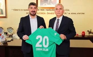 Denizlispor yönetimi Başkan Zolan'ı ziyaret etti