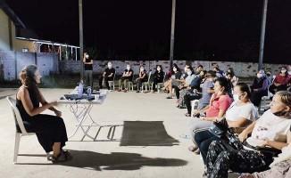 Mahalle sakinleri ile akademik kazı toplantısı