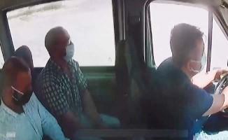 Minibüsteki yaşlıları hedef alan yan kesicinin taktiği pes dedirtti