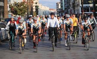 Pamukkale'de Avrupa Spor Haftası bisiklet turuyla kutlandı